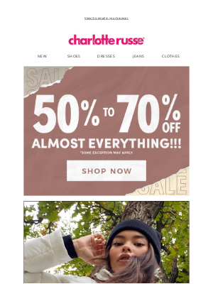 Charlotte Russe - Cozy 🧤🧣🔥 is typing...