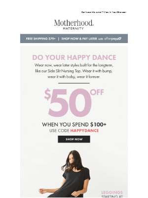 Destination Maternity - Do Your Happy Dance