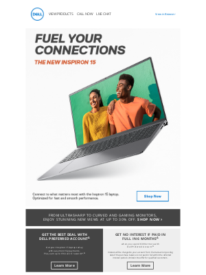 Dell - Connect to what matters most.