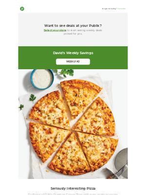 Publix Super Markets - So much pizza. So little time!