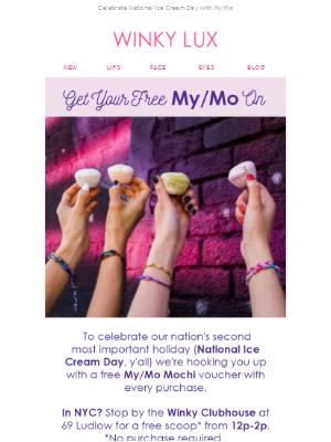 We all scream for (free) ice cream 🍡🍦