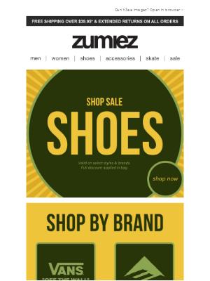 Zumiez - ⚠️ MAJOR SHOE SALE + All New Vans!