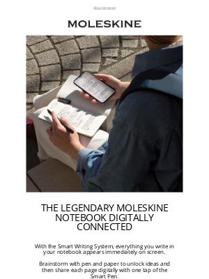 moleskine - The legendary Moleskine notebook digitally connected