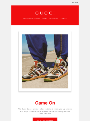 Gucci (UK) - Game On with the Gucci Basket