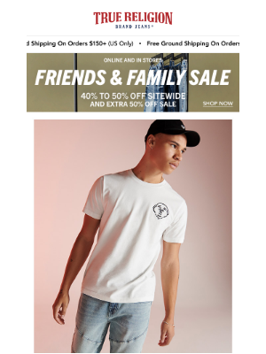 True Religion - Spring For It: Tees