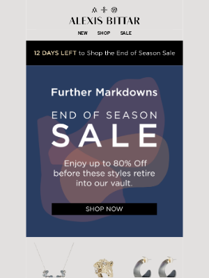 Alexis Bittar - Further Markdowns | The End of Season Sale