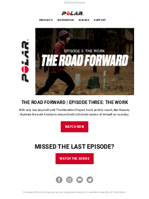 Polar - OUT NOW: The Road Forward | Episode Three