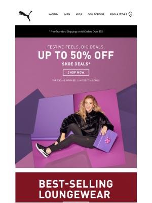 PUMA USA - Our gift to you: Up to 50% off shoe deals.
