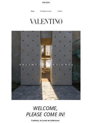 Valentino - Make Yourself at Home