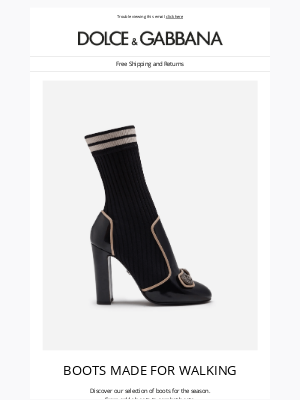 Dolce & Gabbana - Must-have boots: discover the new styles