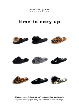 Simply Soles - time for new slippers?