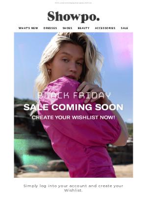 Showpo - Valerie, savings coming soon!