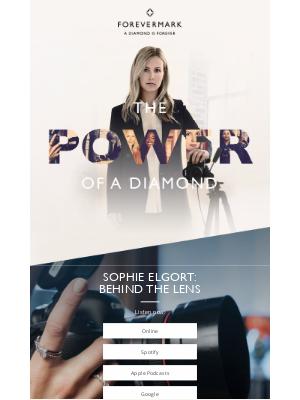 Forevermark - Sophie Elgort: Behind the Lens