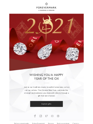 Forevermark - Happy Year of the Ox.