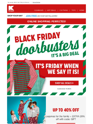 Kmart - Help, please! ⛄ We want to make sure you get your Black Friday Doorbusters