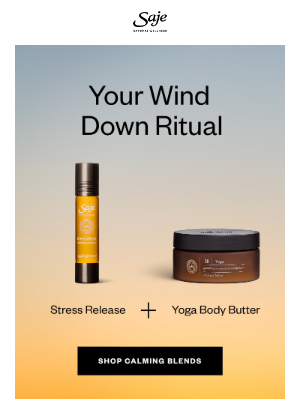 Saje Natural Wellness - Stress-free zone