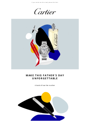 Cartier - For Him on this Special Day