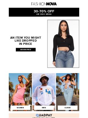 Fashion Nova - PRICE DROP! Buy It Now! ⚡️