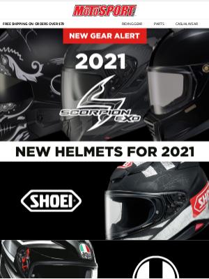 MotoSport - New Gear Alert | 2021 Scorpion EXO
