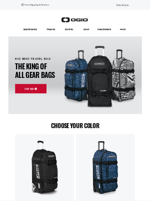 Ogio - See Why The Rig 9800 Is One Of Our Top Selling Travel Bags