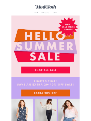 Our most popular summer sale items!