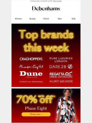Debenhams (UK) - Discover top brands for less!