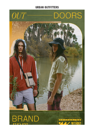 Urban Outfitters - 🏞 The Outdoors Brand Edit (ft. Without Walls + more) →
