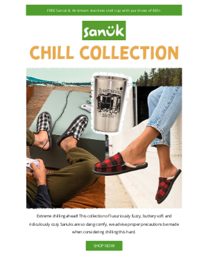 Sanuk - The new Chill Collection.