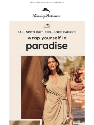Tommy Bahama - Escape to Your Coziest Moment