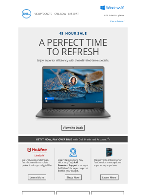 Dell - Exceptional tech, very limited time | 48 Hour Sale