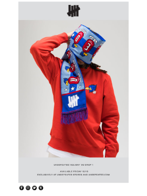 Undefeated - UNDEFEATED HOLIDAY '20 DROP 1 AVAILABLE NOW