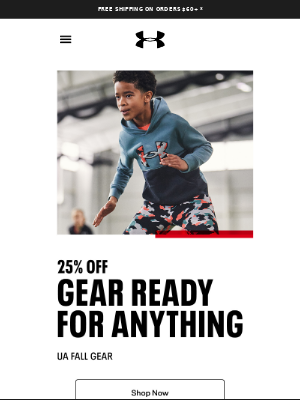 25% off backpacks & training gear w/ only 1 problem…
