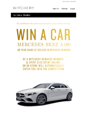 This is BIG   Win A Mercedes Benz