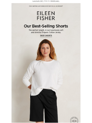 EILEEN FISHER - Our Best-Selling Shorts Are Back