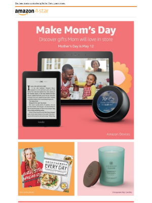 Amazon Prime - Gifts for Mom at Amazon 4-star