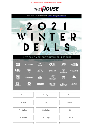 Altrec.com - Up To 30% Off This Seasons Gear From Burton, The North Face, 686 and More!