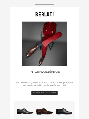 Berluti - Patchwork, a bold formal shoe