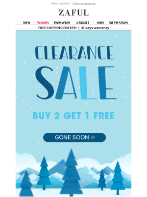 Zaful - Winter Clearance⏰Buy 2 Get 1Free🙌