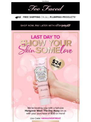 Last Day To Treat Your Skin!