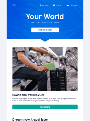 Skyscanner (UK) - How to plan travel in 2021