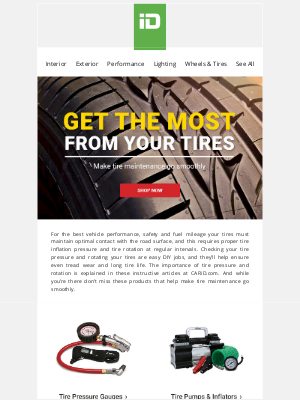CARiD - Get the Most From Your Tires