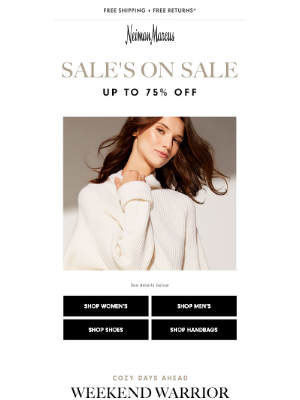 Neiman Marcus - FINAL DAY: Up to 75% off Sale!