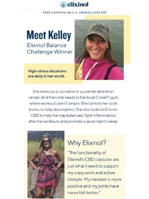Elixinol - Counselor, CrossFitter & Cook