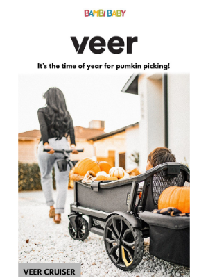 Bambi Baby Store - Veer Cruiser - It's that time of year!