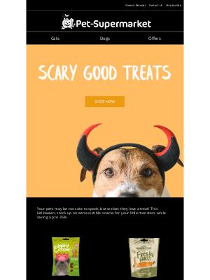 Pet-Supermarket (UK) - All treats and no tricks