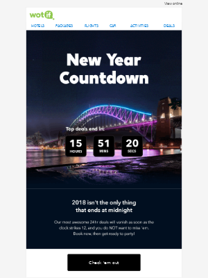 🎉 NEW YEAR COUNTDOWN! Top deals end midnight