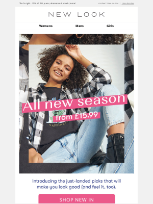New Look (UK) - 👋 Say hello to NEW ARRIVALS