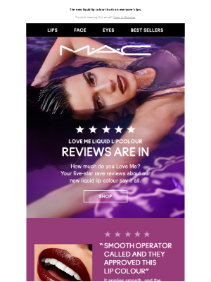 MAC Cosmetics - How much do you Love Me? ⭐⭐⭐⭐⭐