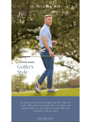 J.Hilburn - Improving your Golf Style