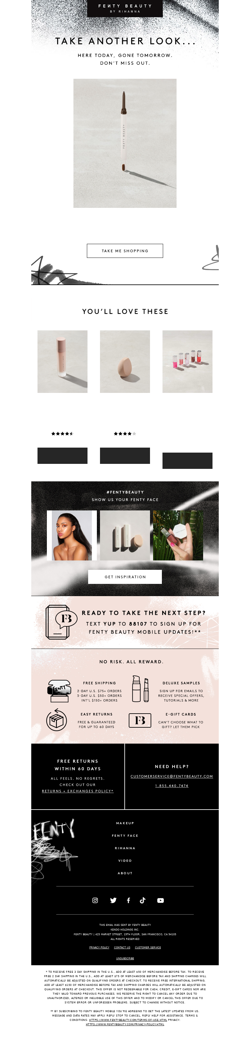 Fenty Beauty - Take another look...